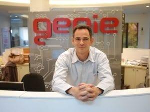 """גיא הוכמן, מנכ""""ל genie"""